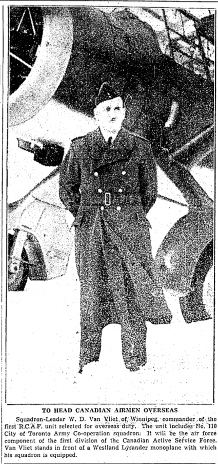 Newspaper clipping– From the Toronto Star December 1939. Submitted for the project Operation Picture Me