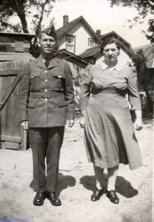 Photo of Albert and Maude