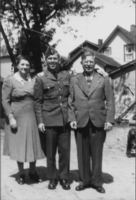 Family Photo– Maude, Albert and Harold.  Submitted for the project, Operation Picture Me
