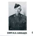 Photo of ARLEIGH HENRY HARKER– Officers of the 1st Bn G&SF in Apr 1941 with Capt A.H. Harker.