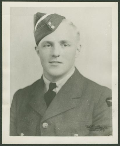 Photo of David Merriman May– Flight Sergeant David Merriman May courtesy McGill University archives