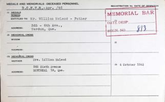 Medal Card– Submitted for the project, Operation Picture Me