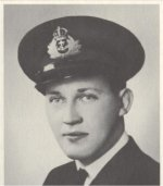 Photo of Charles Paterson– Fatally injured in an accident aboard a Fairmile motor launch in Halifax.  Died January 12th, 1943 at the Camp Hill hospital.