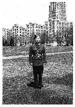 Photo of John Parker McQuarrie– on leave in Montreal. Spring of 1944.