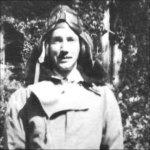 Photo 2 of John Parker McQuarrie– in his flight suit.  Circa 1944