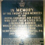 Close-Up of Memorial Plaque