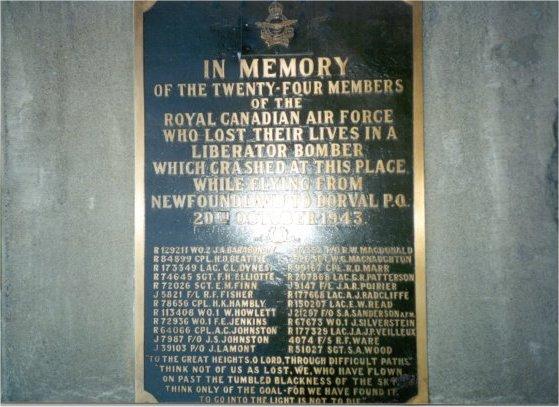 Close-Up of Memorial Plaque