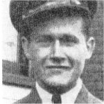 Photo of Stephen Andrew Sanderson– He enlisted in the RCAF on October 1940, gained his pilot's wings at Dunnville Service Flying Training School and instructed at Trenton and Aylmer RCAF stations. He was awarded the Air Force Cross in 1942 for meritorious service when he was involved in a crash landing at Alymer Air Station. He was posted to Halifax with #10 North Atlantic Squadron, Coastal Command flying Liberator Bombers. His aircraft failed to complete a flight from Gander NFLD to Dorval, Quebec.