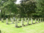 Cemetery– War graves at Boldre Church, Lymington, Hampshire, United Kingdom.