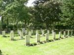 Cemetery– War graves at Boldre Church, Lymington, Hampshire, United Kingdom.