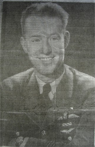 Newspaper Clipping– Photo of Fred Garvey from newspaper obituary