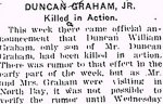 Newspaper Clipping– From the Renfrew Mercury for 18 May 1917.
