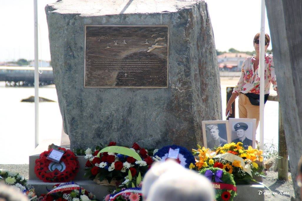 Memorial– This memorial was unveiled on August 6, 2016 which honours Ian Robbie and Robert Forestell who were killed in a plane crash on August 8, 2016.