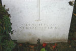 """Epitaph– Epitaph:  """"A devoted son A Brave Soldier"""""""
