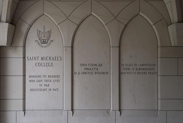 St. Michael's College Memorial Intro