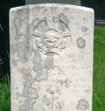 Grave Marker– Grave of Sgt. WILLIAM JAMES HACKETT, Buxton Cemetery