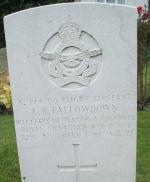 Grave Marker– The grave of Fallowdown