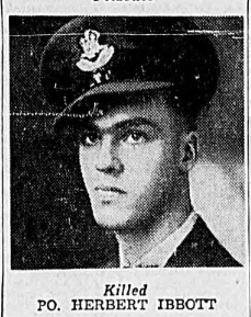 Photo of HERBERT IBBOTT– In memory of the men and women memorialized on the pages of the Winnipeg Evening Tribune. Submitted for the project, Operation: Picture Me.