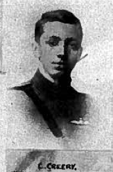 Photo of CUTHBERT JOHN CREERY– In memory of the students from the University of British Columbia who went to war and did not return. Submitted for the project, Operation: Picture Me.