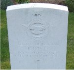 Gravemarker– This is a picture of Reginald Davis' grave in Heilly Station Cemetery.  It was taken in April 2006.