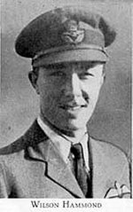 Photo of Wilson Irvin Hammond– Picture from West Hill High School Annual 1944 (Montreal). Photo supplied by McGill University. www.education.mcgill.ca/history/highschools/Monklands/