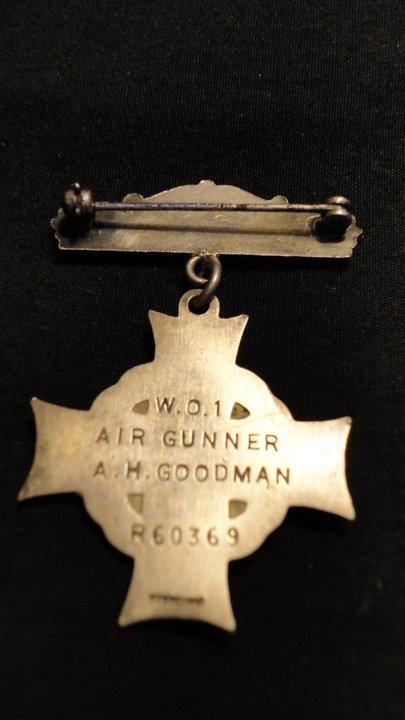 Memorial cross– Clara Hutson's Silver Star