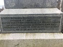 Memorial– Grave site in Scotland
