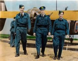 Photo of LAWRENCE DAVID HILLIER– Lawrence in centre. Submitted for the project, Operation Picture Me