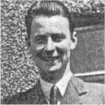 Photo of William Robert Kearns– Enlisted in April 1941, he completed over 50 operations as an Air Gunner on heavy bombers when he and his crew of the #419 Moose Squadron were killed in a mid-air collision while enroute to bomb Bonn, Germany.