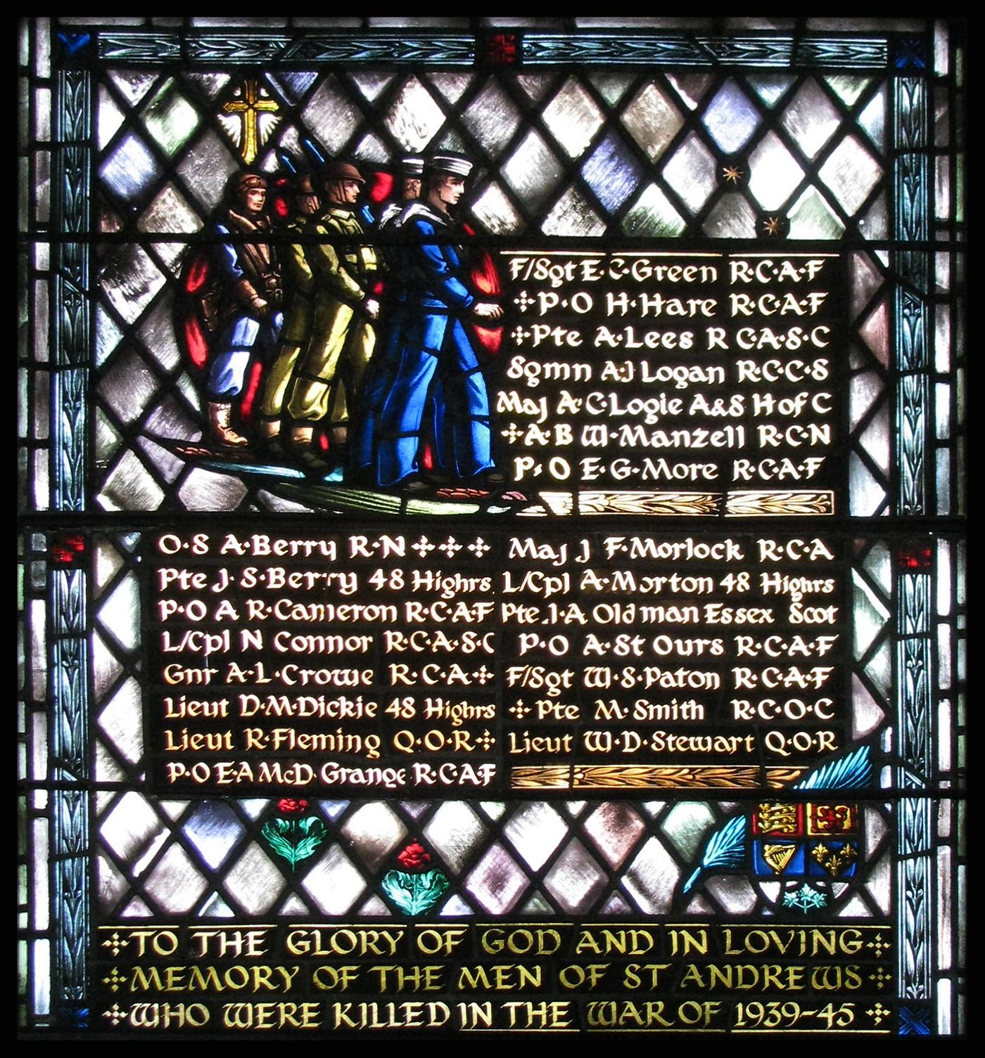 Memorial– St. Andrew's Church (Presbyterian), 73 Simcoe Street, Toronto