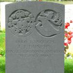 Grave Marker– JJ Dunphy, Y ravine Cemetery, Beaumont-Hamel