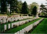 'Y' Ravine Cemetery– The 'Y' Ravine Cemetery, Beaumont-Hamel, France where Lieutenant Hubert Clinton Herder is buried.