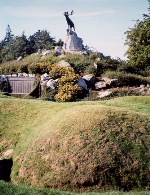 Beaumont-Hamel– This is the monument that now stands at Beaumont-Hamel Newfoundland Memorial.
