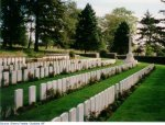"""The 'Y' Ravine Cemetery– """"The 'Y' Ravine Cemetery, Beaumont-Hamel, France where Private Silas Jeffers is buried."""""""