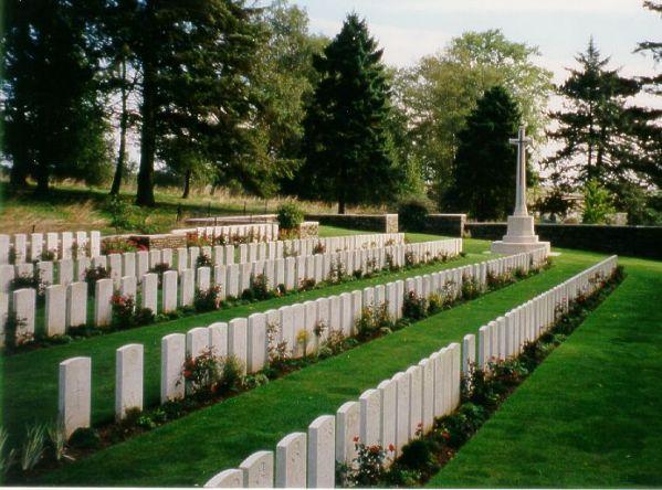 Cecil Parmiter's Cemetery Site
