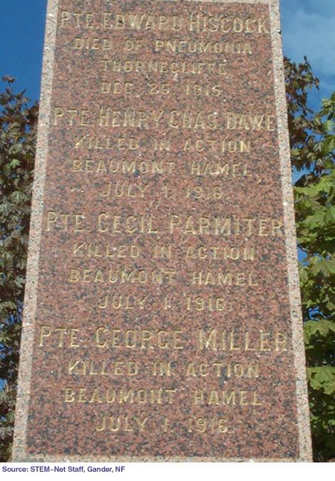 Kelligrew Monument 2