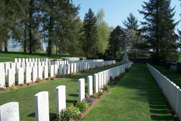 Cemetery– Y Ravine Cemetery - April 2017 … photo courtesy of Marg Liessens