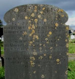 Grave Marker– This is a photo that I found on the internet of William Bartley and his fathers grave stone in France.