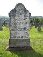 Memorial– This is a photo of John Benson's family headstone in St Cuthbert Churchyard Lorton Cumbria