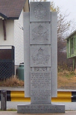 Monument– Monument found in Baie Verte, Newfoundland commemorating those