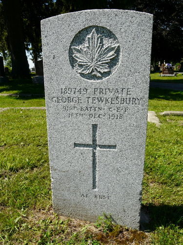 Grave Marker– TEWKESBURY