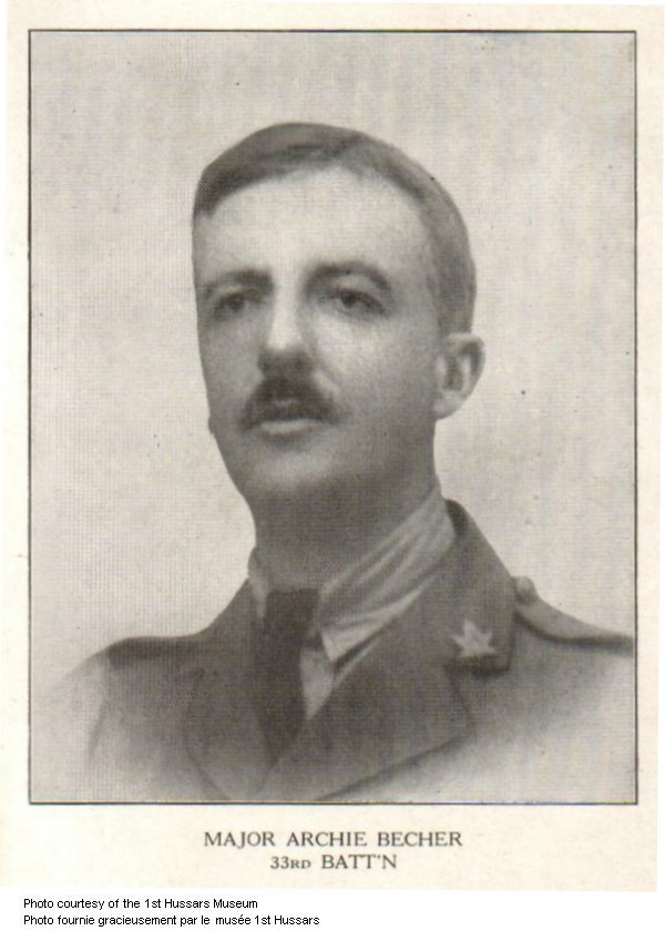 Photo of Archibald Valency Becher