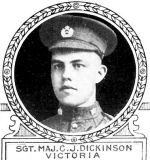 Photo of Cleeson Dickinson– From: The Varsity Magazine Supplement Fourth Edition 1918 published by The Students Administrative Council, University of Toronto.   Submitted for the Soldiers' Tower Committee, University of Toronto, by Operation Picture Me.