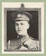 Photo of Cleeson Dickinson– Source:  Acta Victoriana War Supplement, Victoria College, Toronto, Ontario, December 1919.
