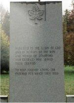 Cross of Sacrifice– Cross of Sacrifice at Avondale Cemetery.