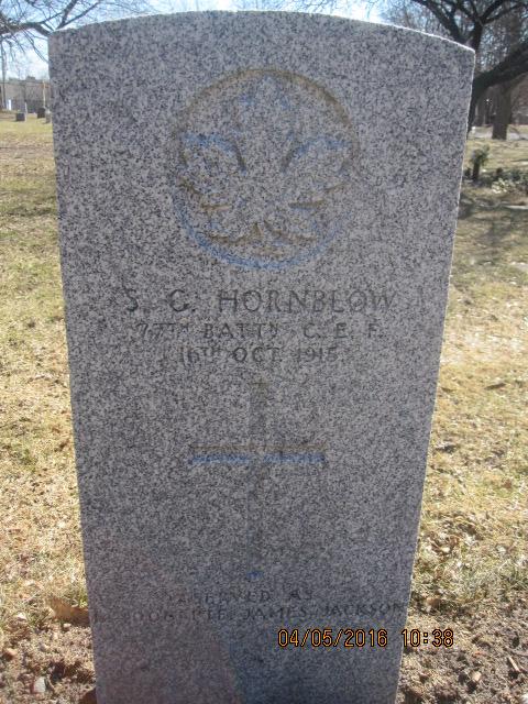 Grave Marker– Commission Headstone HORNBLOW