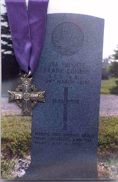Gravestone for Frank Conroy