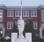 War Memorial– Sgt. Robert Jay Bennett's name appears on the Kemptville Ontario War Memorial.