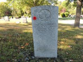 Grave Marker– Thompsonville Cemetery, Renfrew, Ontario