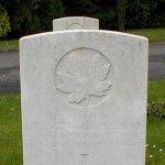 Pierre tombale – Tombe de Lewington George Davis.